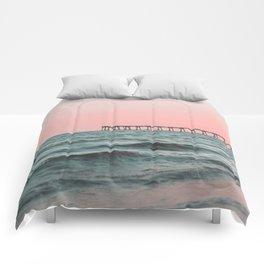 Pink Ocean Comforters