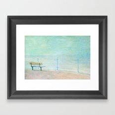 The Empty Bench Part 2 Framed Art Print