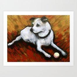 Dog Days Art Print