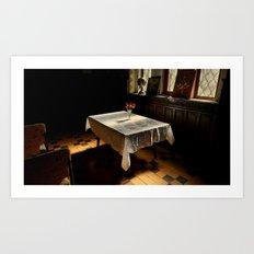 Sunlit in Bulgaria Art Print