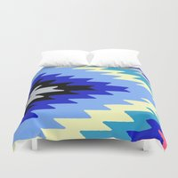 kilim Duvet Covers featuring Kilim Rug Bright by suzyoconnor