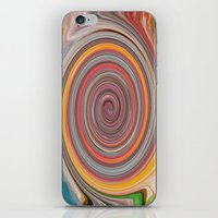 trippy iPhone & iPod Skins featuring trippy by Carol Sabbagh