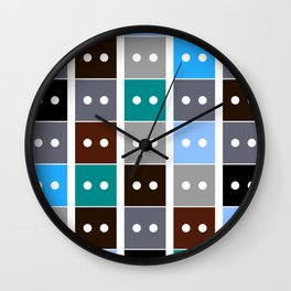 Building Blocks Wall Clock