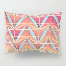 From pink to yellow pattern Pillow Sham