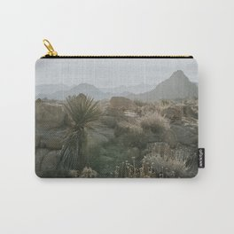 Joshua Tree National Park at Sunrise Carry-All Pouch