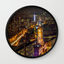 Berlin nights Wall Clock