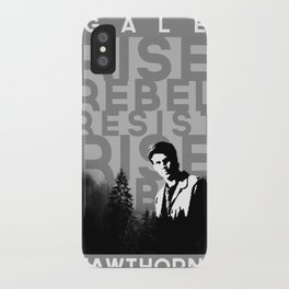 "Gale ""Rise Rebel Resist"" Hawthorne iPhone Case"