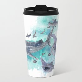 Star Sharks & Rays Travel Mug
