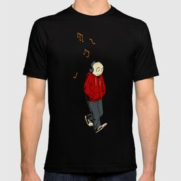 The Li'l Depressed Boy -- November Stroll T-shirt