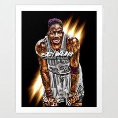 Jordan SMITH (THINK FRESH PRINCE) Art Print