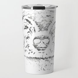 Black Headstone Travel Mug