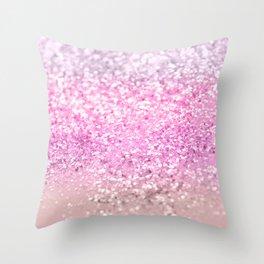 Unicorn Girls Glitter #21 #shiny #decor #art #society6 Throw Pillow