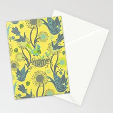 Birds and Acorns Stationery Cards