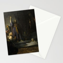 The Raising of Lazarus Stationery Cards
