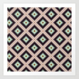 Starry Tiles in BMAP 00 Art Print
