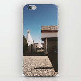 Stay At The Wigwam Motel iPhone Skin