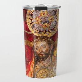 Senhor Santo Cristo dos Milagres Travel Mug