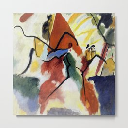 Wassily Kandinsky Impression V Metal Print