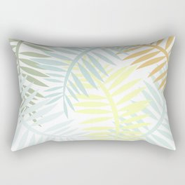 Yellow Puff Rectangular Pillow