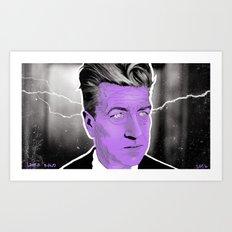 D A V I D Art Print