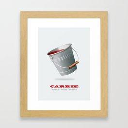 Carrie - Alternative Movie Poster Framed Art Print
