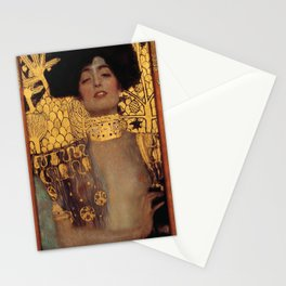 Gustav Klimt Judith and the Head of Holofernes (detail) 1901 Stationery Cards