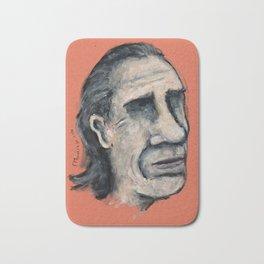 Charles Bukowski Bath Mat