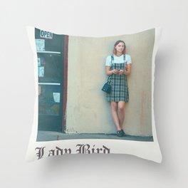 Lady bird poster Throw Pillow