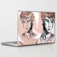 boy Laptop & iPad Skins featuring Boy by Anwar B