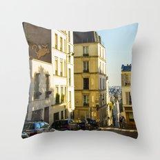 Montmartre series 1 Throw Pillow