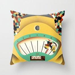 as fast as love Throw Pillow