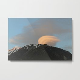 gust on the clouds Metal Print