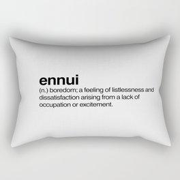 Ennui Rectangular Pillow
