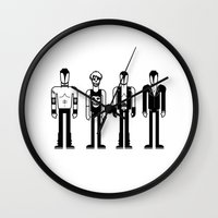 misfits Wall Clocks featuring Misfits by Band Land