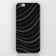 Organic Stripes #01: Monochrome version iPhone & iPod Skin