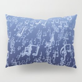 Aquatic Chords Pillow Sham