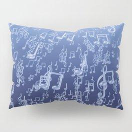 Aquatic Chords Pillow Sham