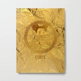 CYRUS Metal Print