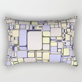 Abstract geometric pattern.4 Rectangular Pillow
