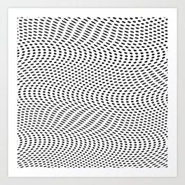 3D- OP- Dot Art Print