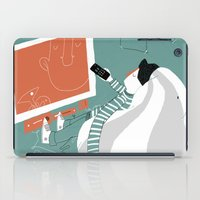 tv iPad Cases featuring TV by monrix