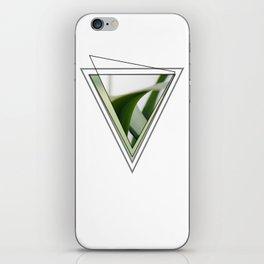 Green V #photography #minimal #design #kirovair #buyart iPhone Skin