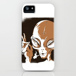 Smoking iPhone Case