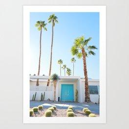 PS, Blue Door 2 Art Print