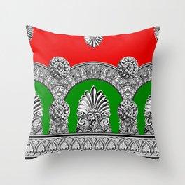 Roman Holiday Throw Pillow