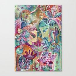 Divine Union by Justine Aldersey-Williams Canvas Print