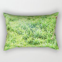 Forest of moss Rectangular Pillow