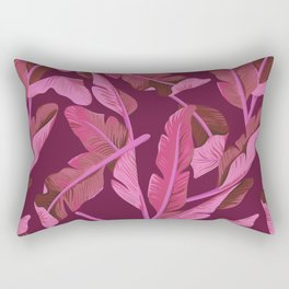 Tropical '17 - Ajaja [Banana Leaves] Rectangular Pillow