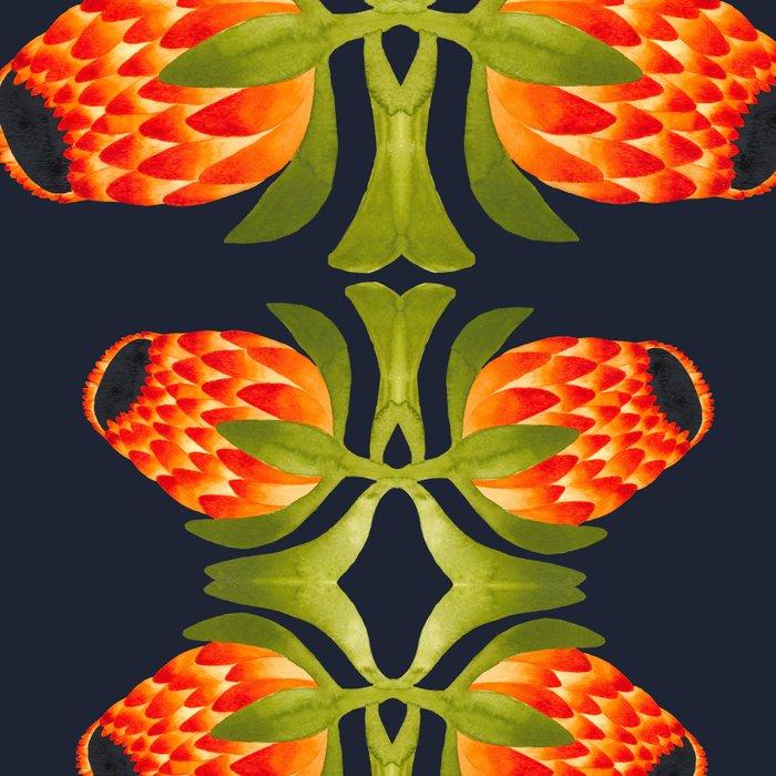 Floral symmetry 1. Leggings