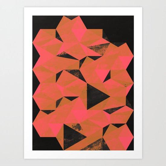 Geo M16 Art Print